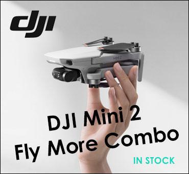 DJI Mini 2 Fly more combo kit