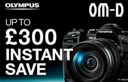 Olympus OM-D Instant Savings up to £300