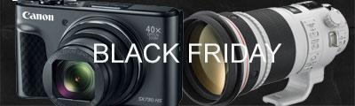 Take a look at Canon's Black Friday Deals!