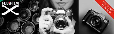 Claim up to £190 Cashback on selected Fujifilm X Series