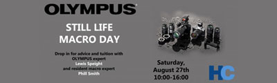 Olympus Macro Day – Saturday 27th August - Promotions!!!