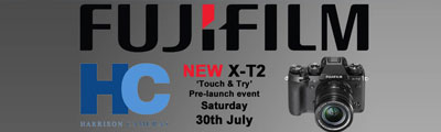 X-T2 'Touch & Try' Pre-Launch - 30th July