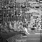 Bob Wood: Computer printed circuit board.Equipment: Olympus OMD M1 & 60mm Macro Lens