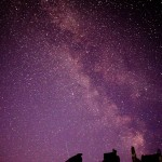 Richard Belcher - Milkyway over Corfe Castle - Canon 70D with 18-135mm