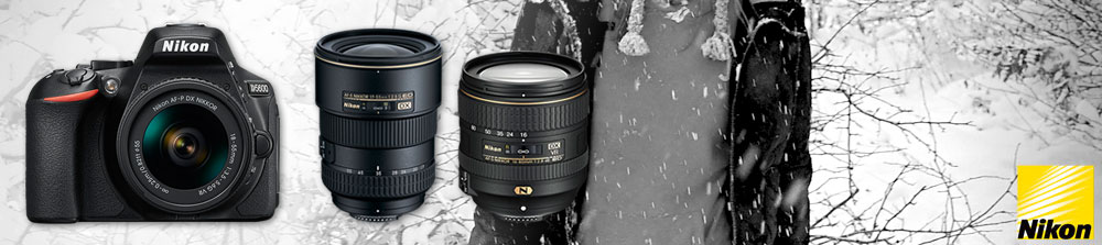 Nikon up to £90 cashback on cameras and lenses