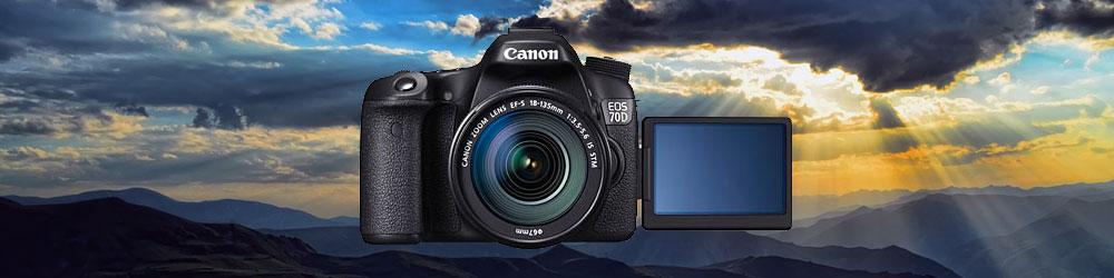 Used Canon EOS 70D Digital SLR Camera Body