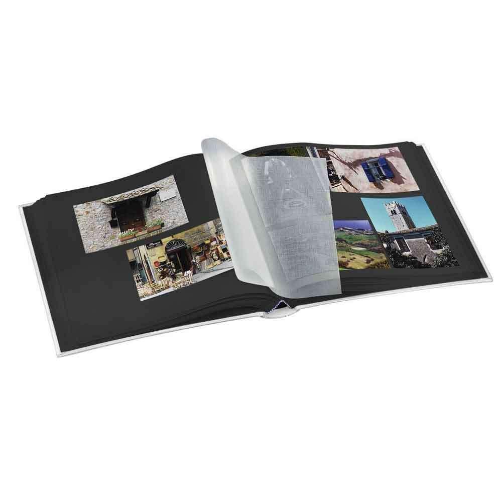 Hama La Fleur Jumbo Traditional Photo Album 30x30 Cm 100 Black Pages