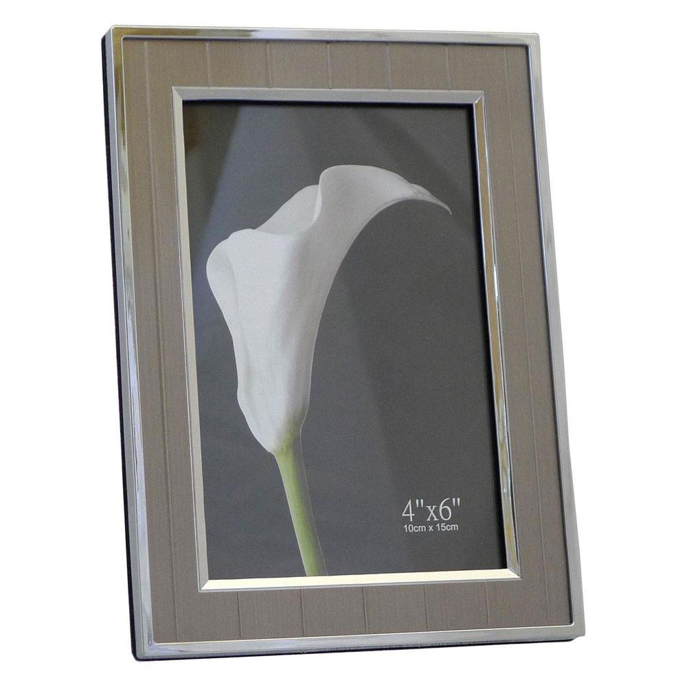 adelaide silver 6x4 photo frame. Black Bedroom Furniture Sets. Home Design Ideas