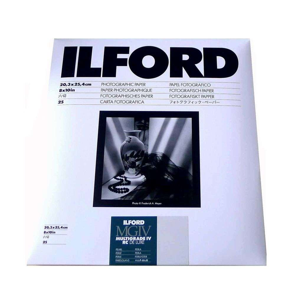 "Pearl+Glossy 5/""x7/"" 25 Sheets Darkroom Paper Ilford MGIV RC Bundle"