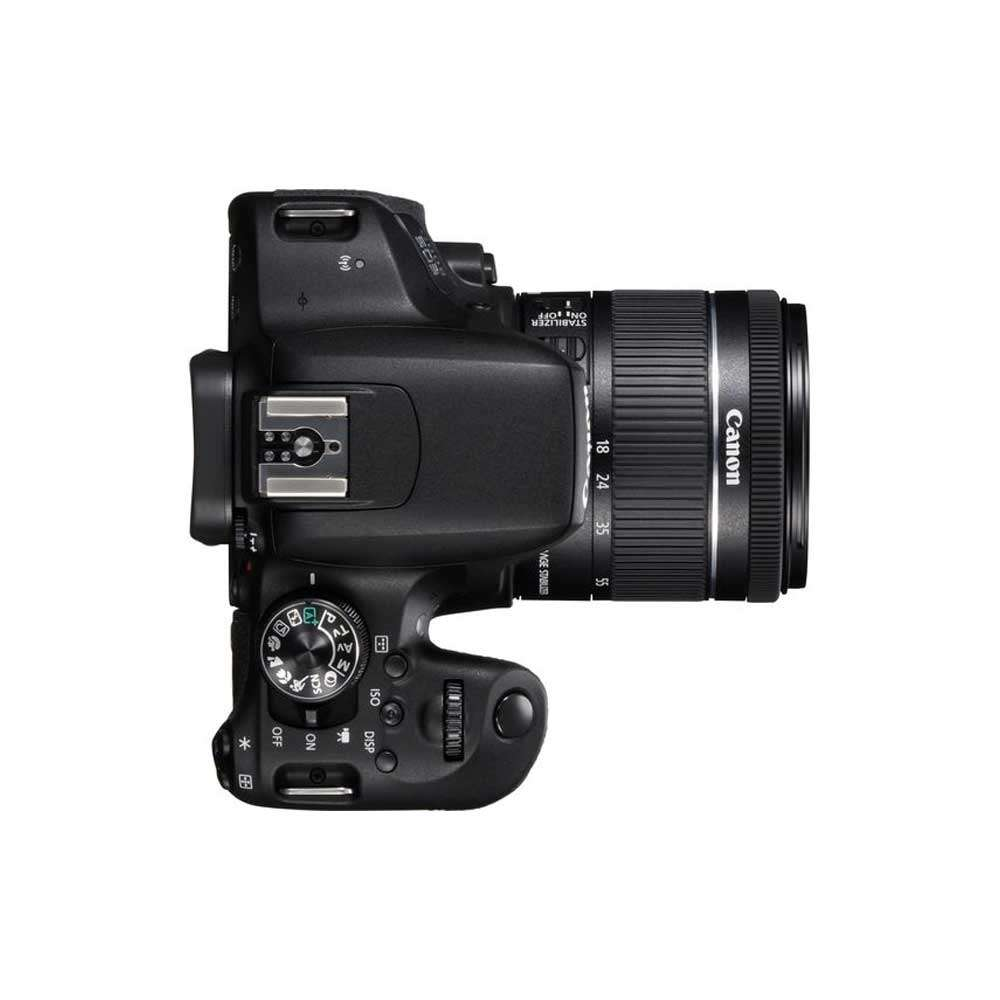 Canon 800D   18-55mm EF-S Lens 24 2 MP   22 3 x 14 9mm CMOS