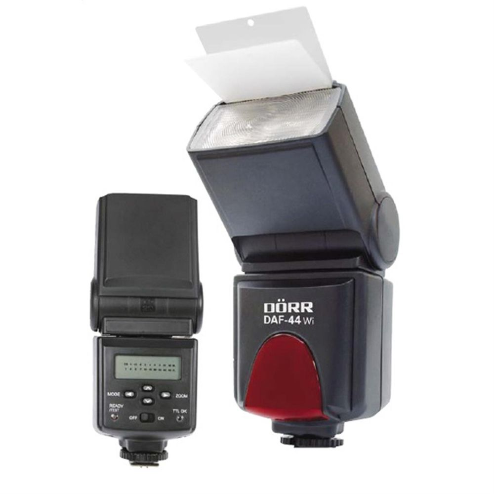 Dorr DAF-44 Wi Power Zoom TTL Flash Unit Canon Fit