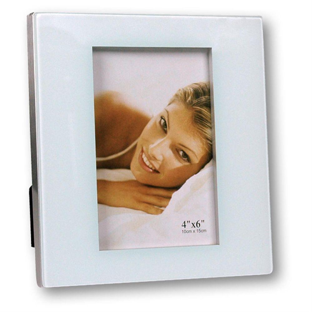 cassiopea glass 6x4 photo frame. Black Bedroom Furniture Sets. Home Design Ideas