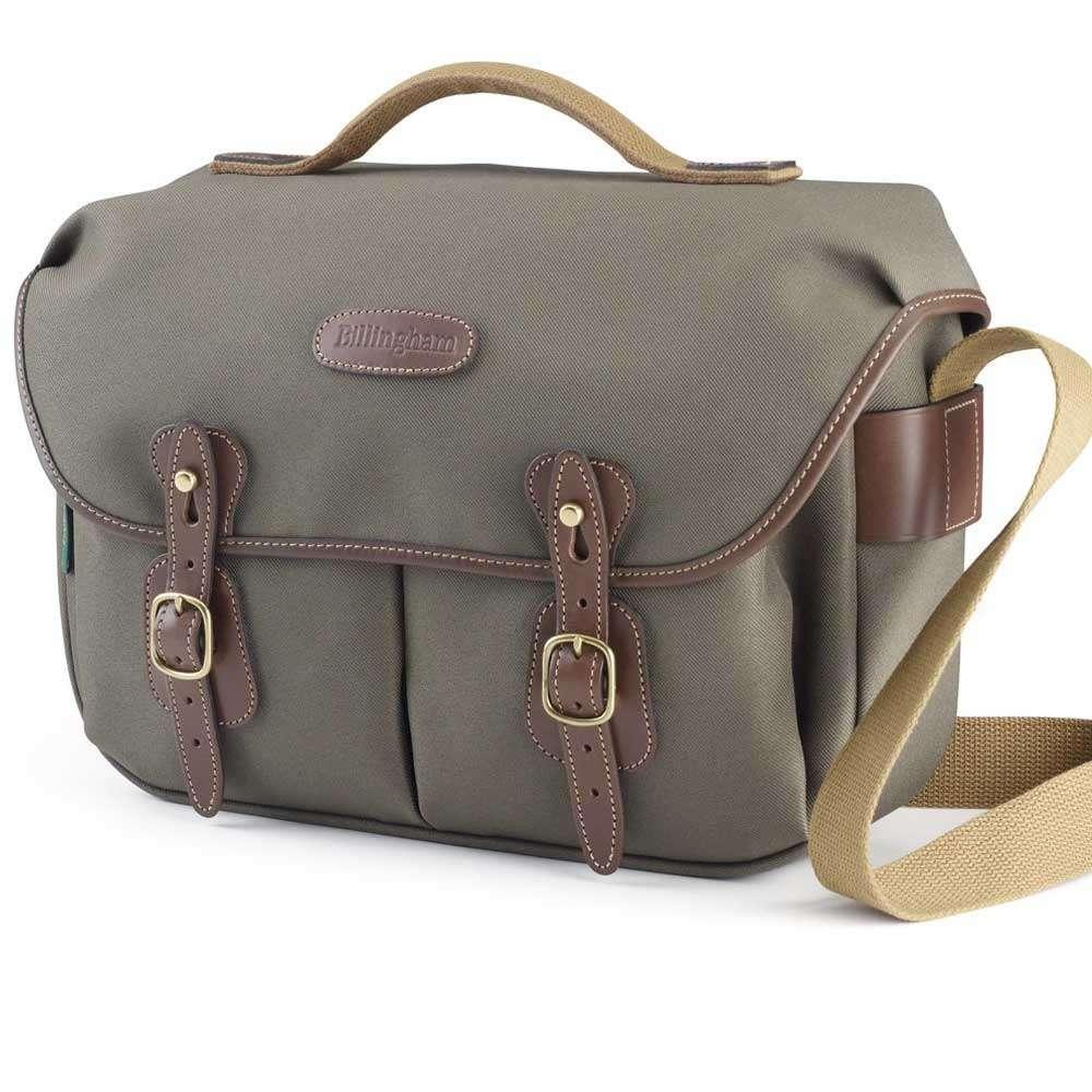 Billingham Leather Luggage Tally Chocolate
