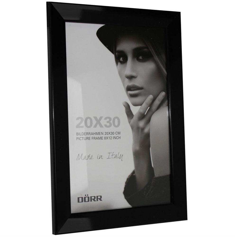 Dorr Lack Black 12x8 Photo Frame