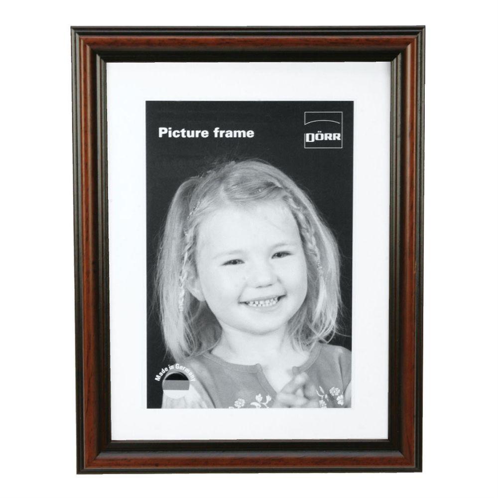 dorr passau dark wood 6x4 photo frame harrison cameras. Black Bedroom Furniture Sets. Home Design Ideas