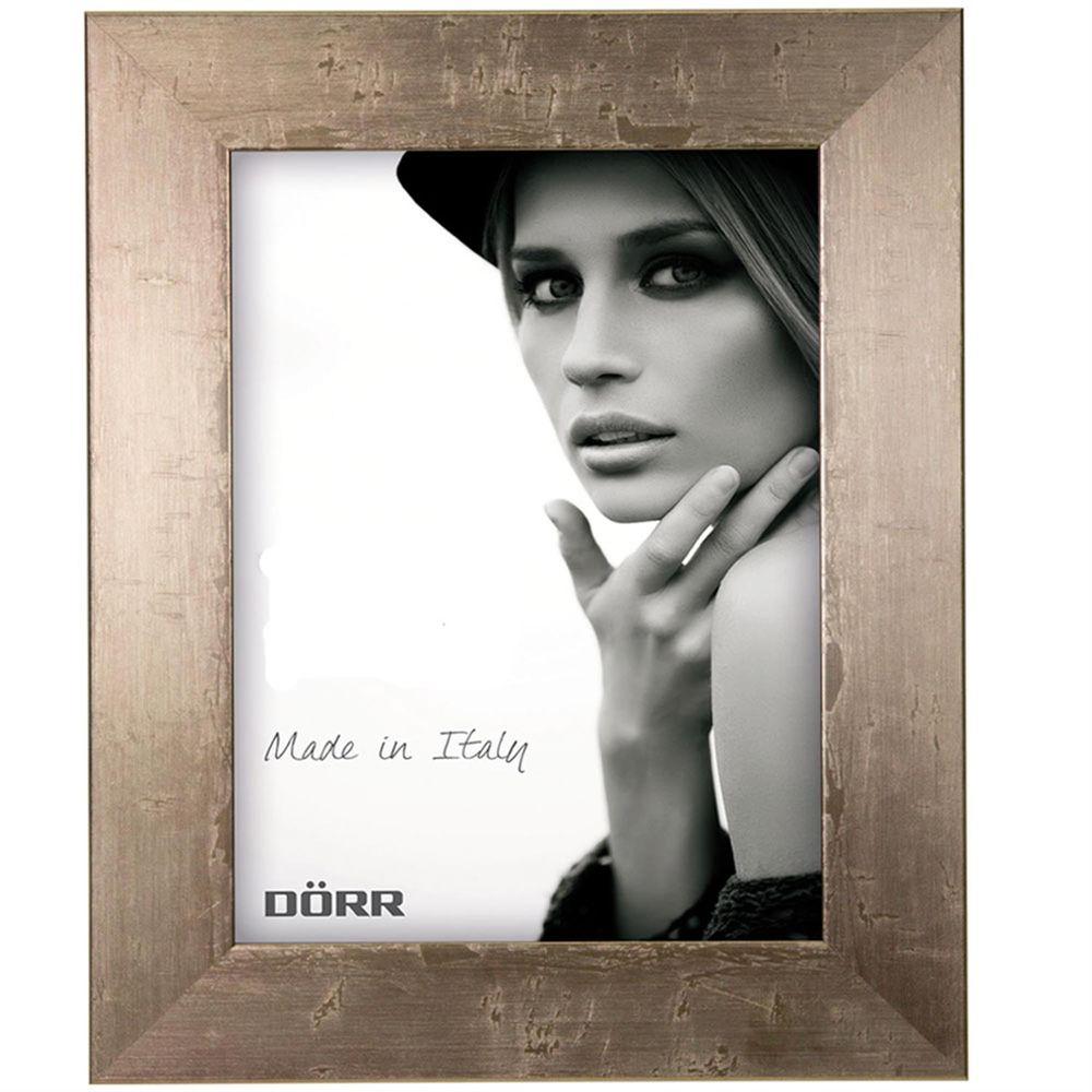Dorr Milo Brass Effect Wooden 20x16 Photo Frame