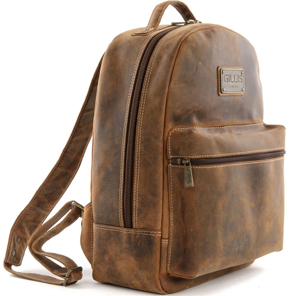 Gillis Trafalgar Leather Camera Backpack | Harrison Cameras