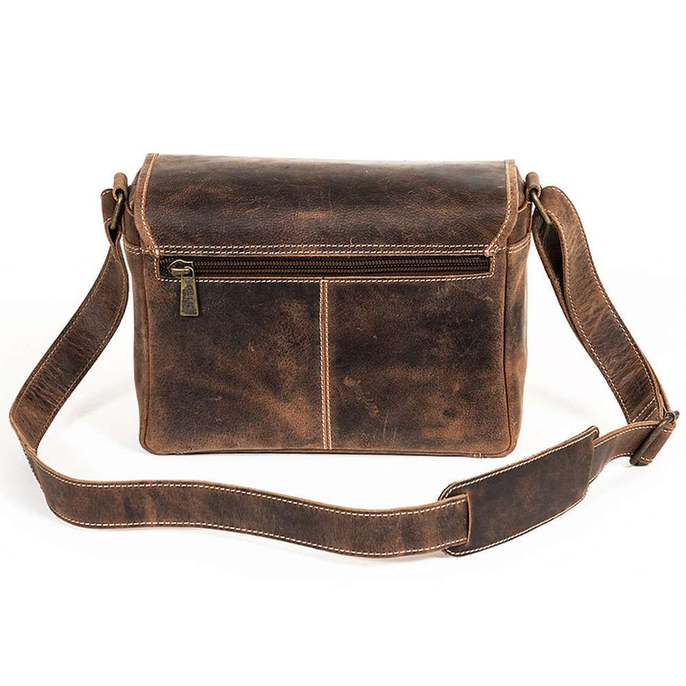 9d29219e4 Gillis London Trafalgar Handy Leather Shoulder Bag