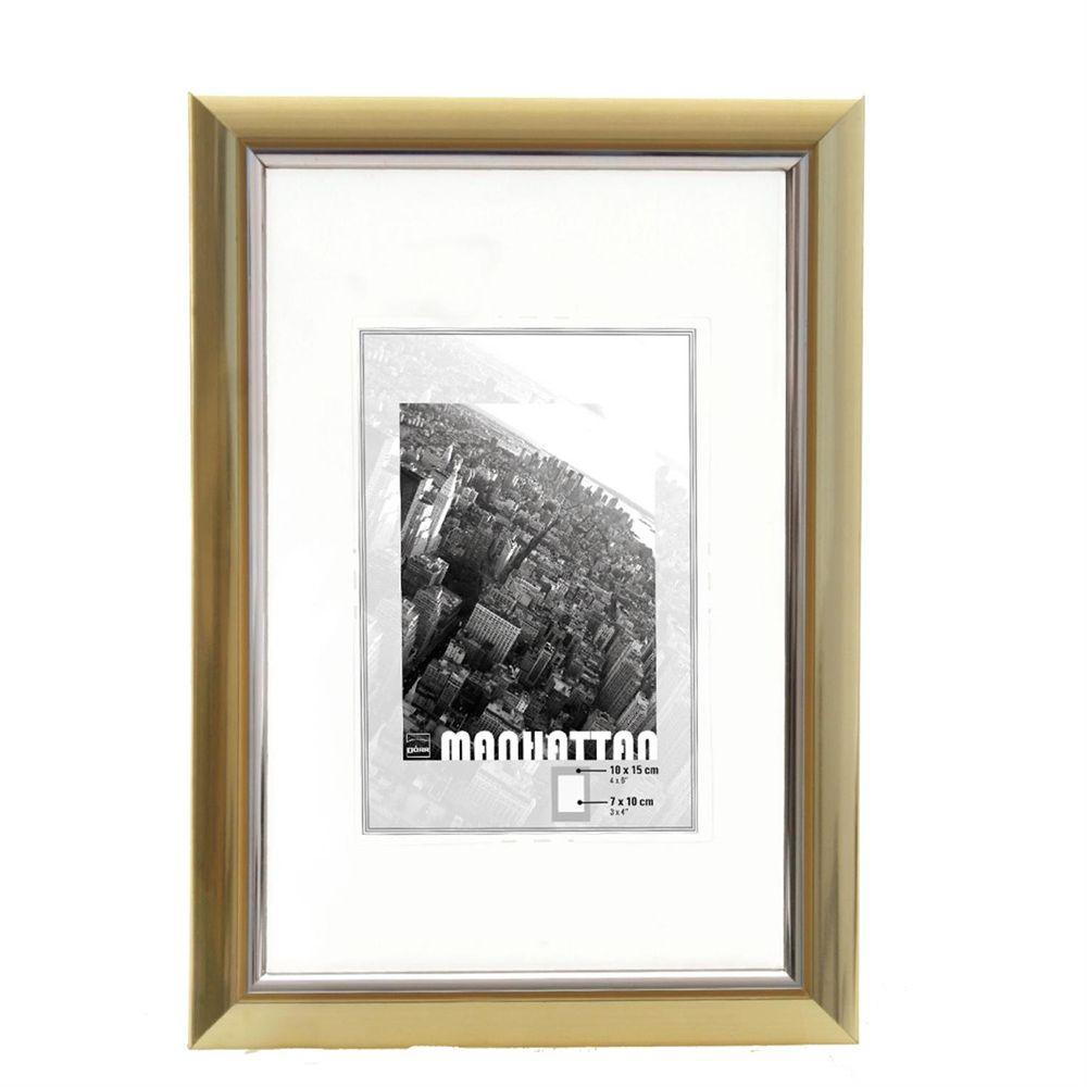 dorr manhattan gold 6x4 photo frame. Black Bedroom Furniture Sets. Home Design Ideas
