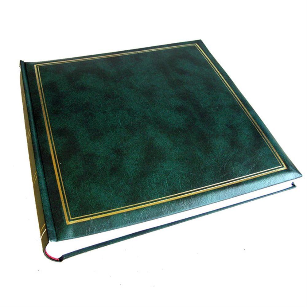 classic green traditional photo album