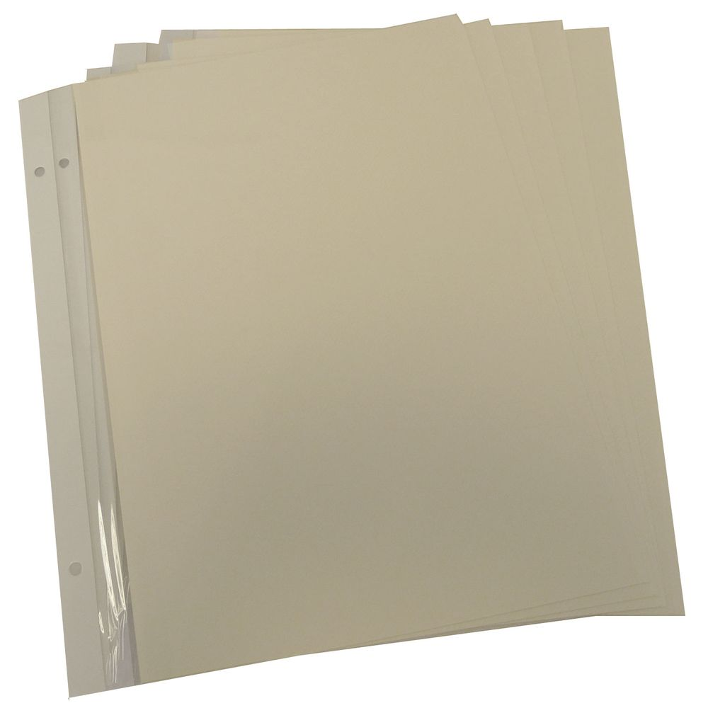 Dorr Refill Sheets For Classic Self Adhesive Photo Album Pack Of 5