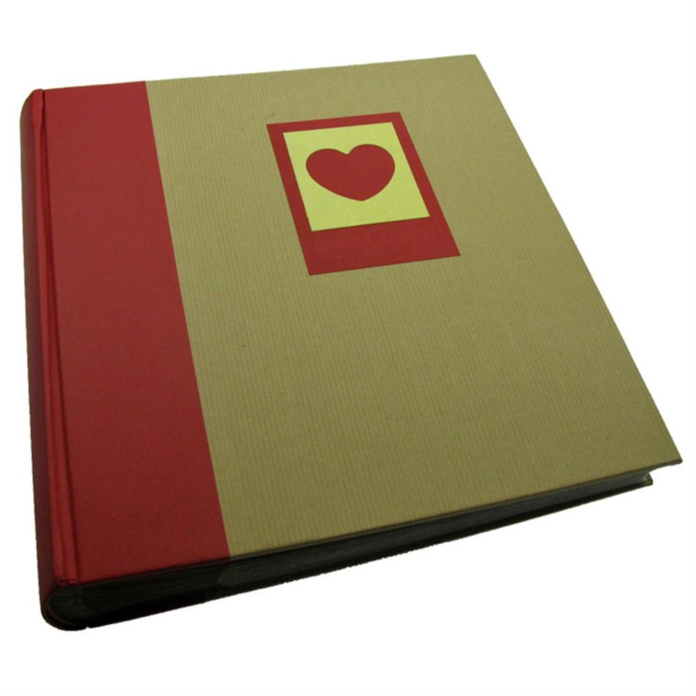 green earth red heart 6x4 slip in photo album 200 photos. Black Bedroom Furniture Sets. Home Design Ideas