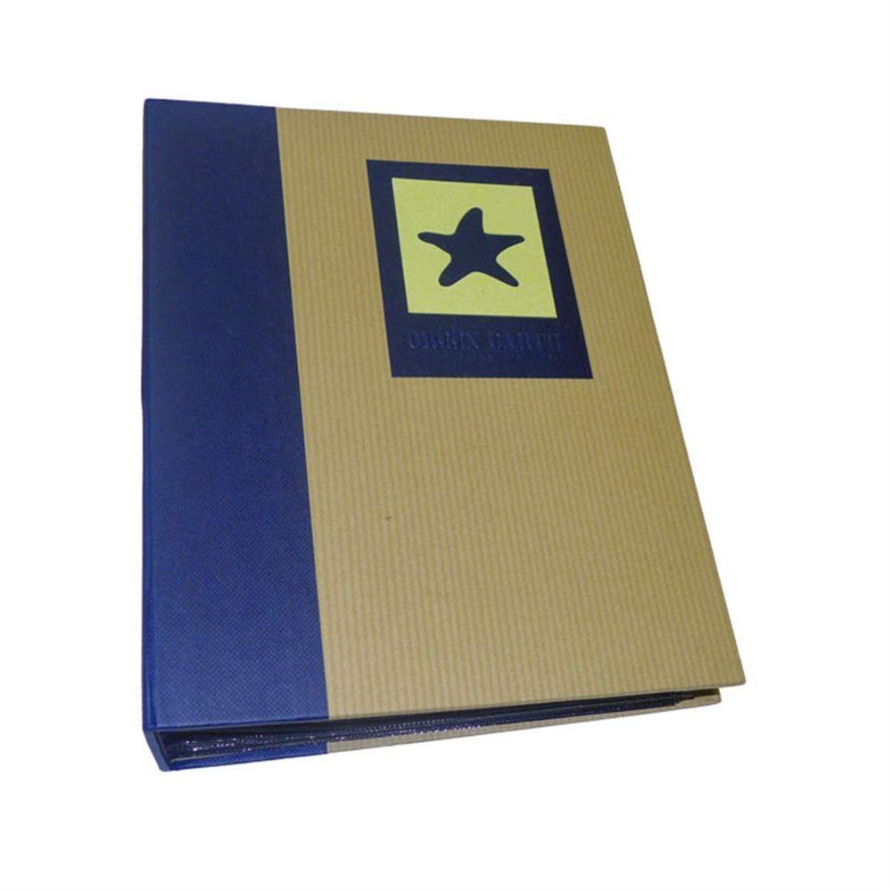 green earth blue starfish mini max 7x5 slip in photo album. Black Bedroom Furniture Sets. Home Design Ideas