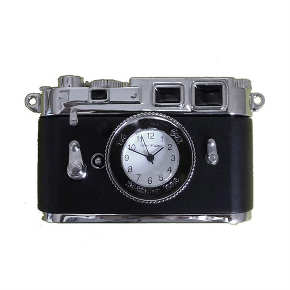 Miniature Vintage Camera Clock