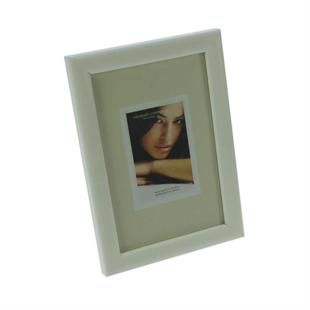 chelsea white wood 6x4 photo frame harrison cameras. Black Bedroom Furniture Sets. Home Design Ideas
