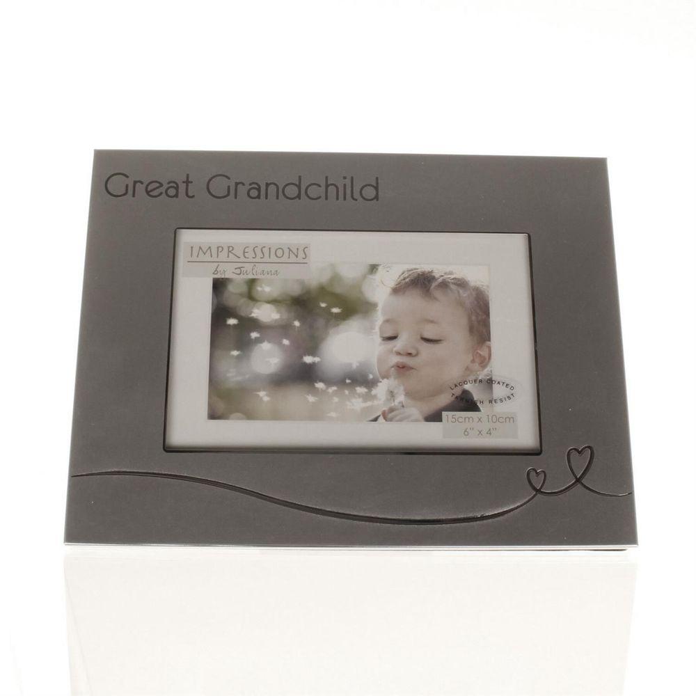 great grandchild two tone 6x4 photo frame. Black Bedroom Furniture Sets. Home Design Ideas