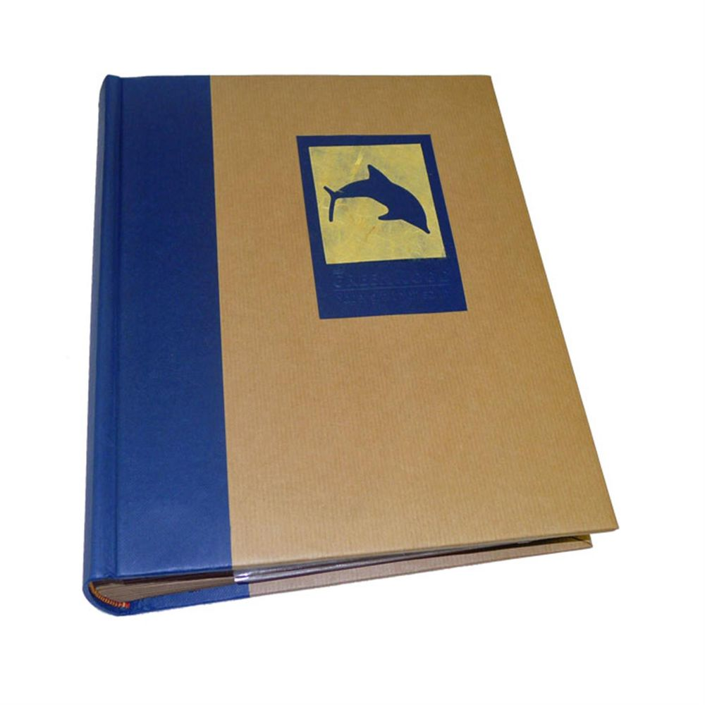 green earth blue dolphin 9x6 slip in photo album 100. Black Bedroom Furniture Sets. Home Design Ideas