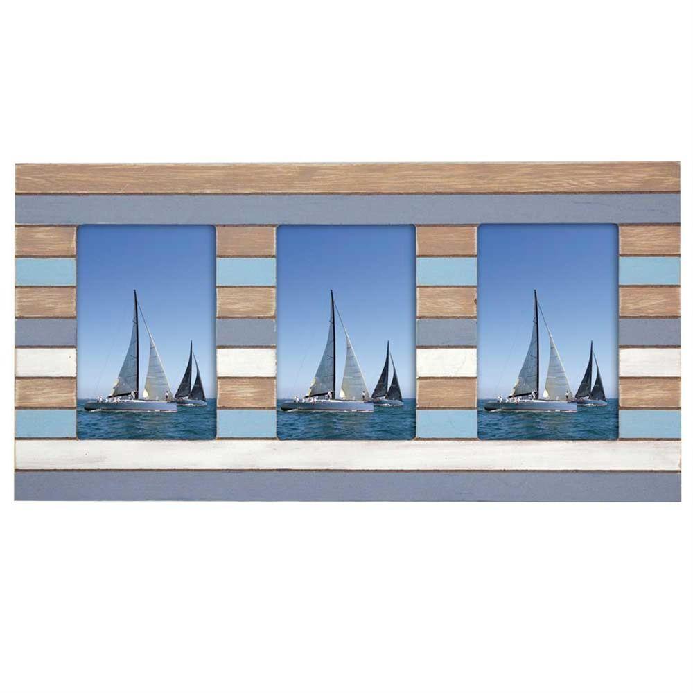 mauritius wood 6x4 multi aperture photo frame harrison. Black Bedroom Furniture Sets. Home Design Ideas