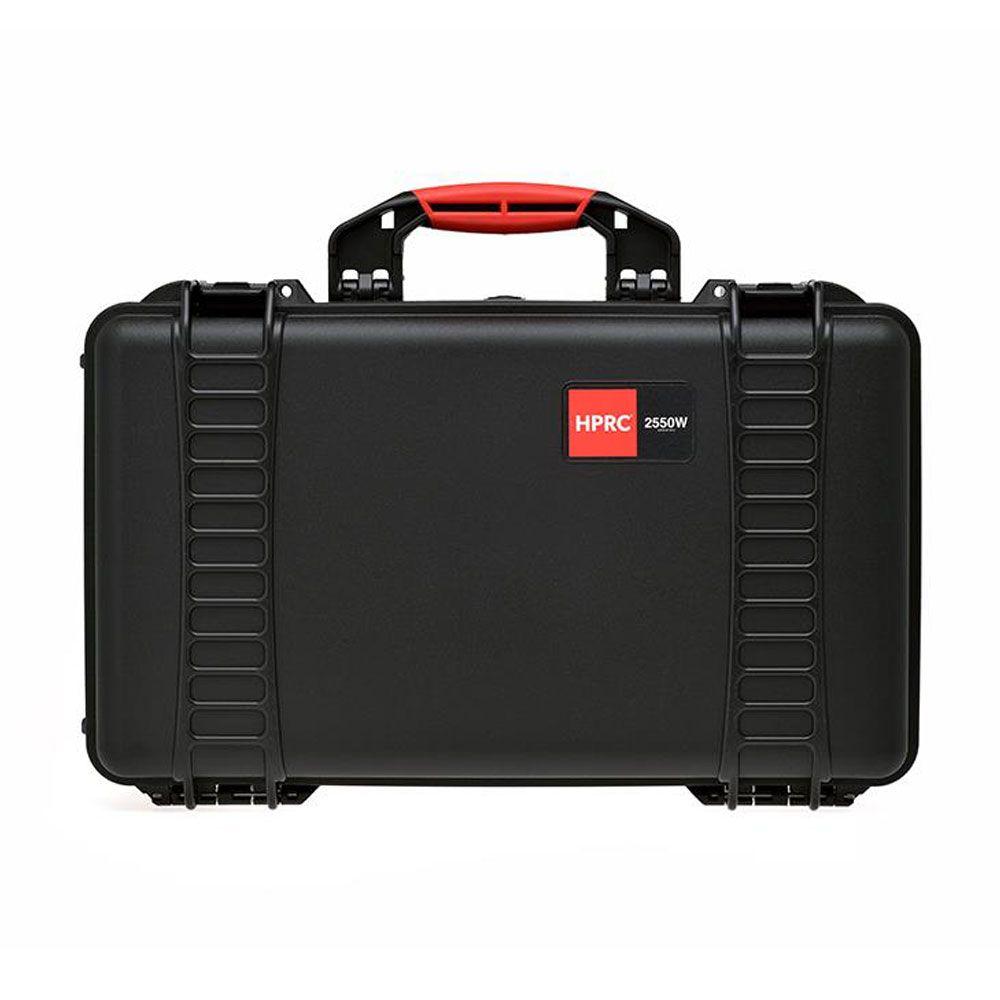 fe256ba33bf6 HPRC 2550W Wheeled Hard Resin Case with Cubed Foam - Black