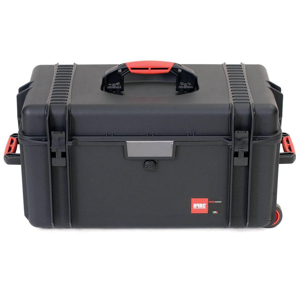 c1b0a14a9a5c HPRC 4300W Wheeled Hard Resin Case with Cubed Foam - Black