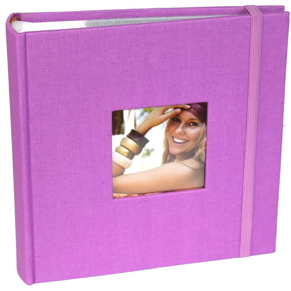 aztec purple slip in 6x4 photo album 200 photos. Black Bedroom Furniture Sets. Home Design Ideas