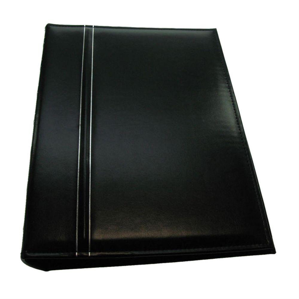 carlton black 8x6 slip in photo album 200 photos. Black Bedroom Furniture Sets. Home Design Ideas