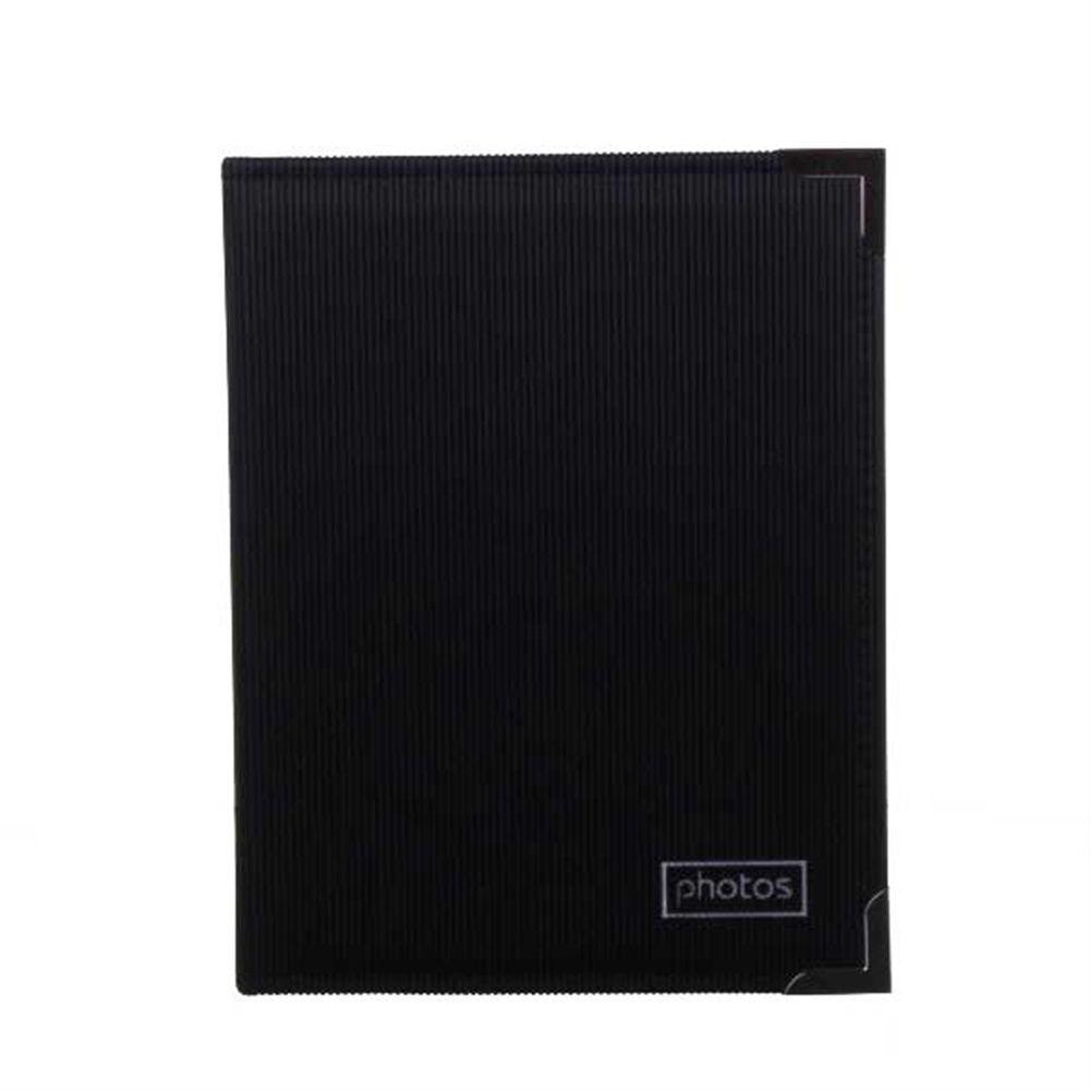 black 6x4 slip in photo album 200 photos harrison cameras. Black Bedroom Furniture Sets. Home Design Ideas