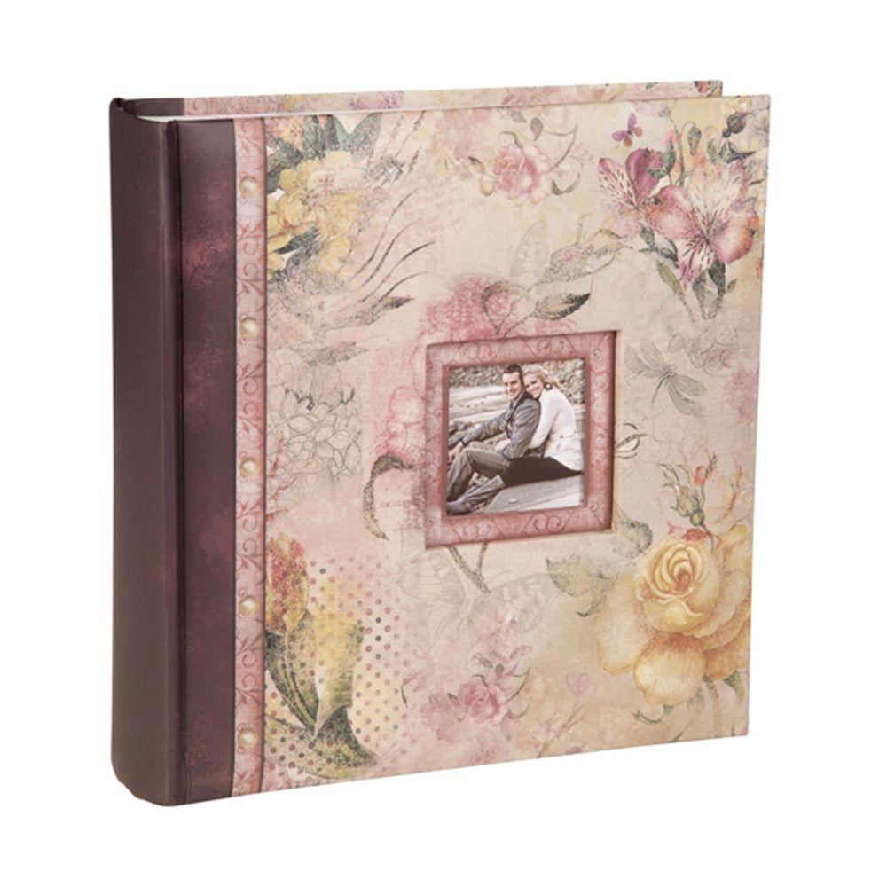 summer breeze pink rose 6x4 slip in photo album 200. Black Bedroom Furniture Sets. Home Design Ideas