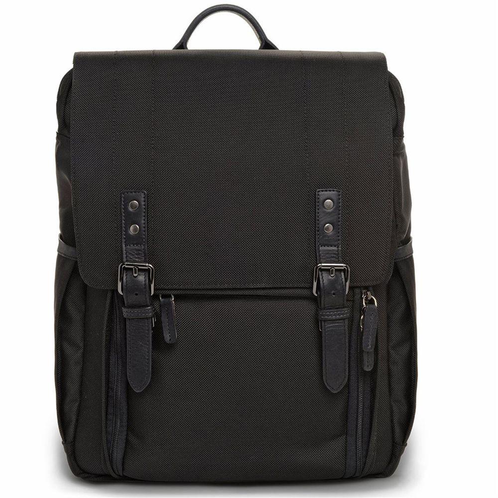 Ona Camps Bay Black Nylon Backpack