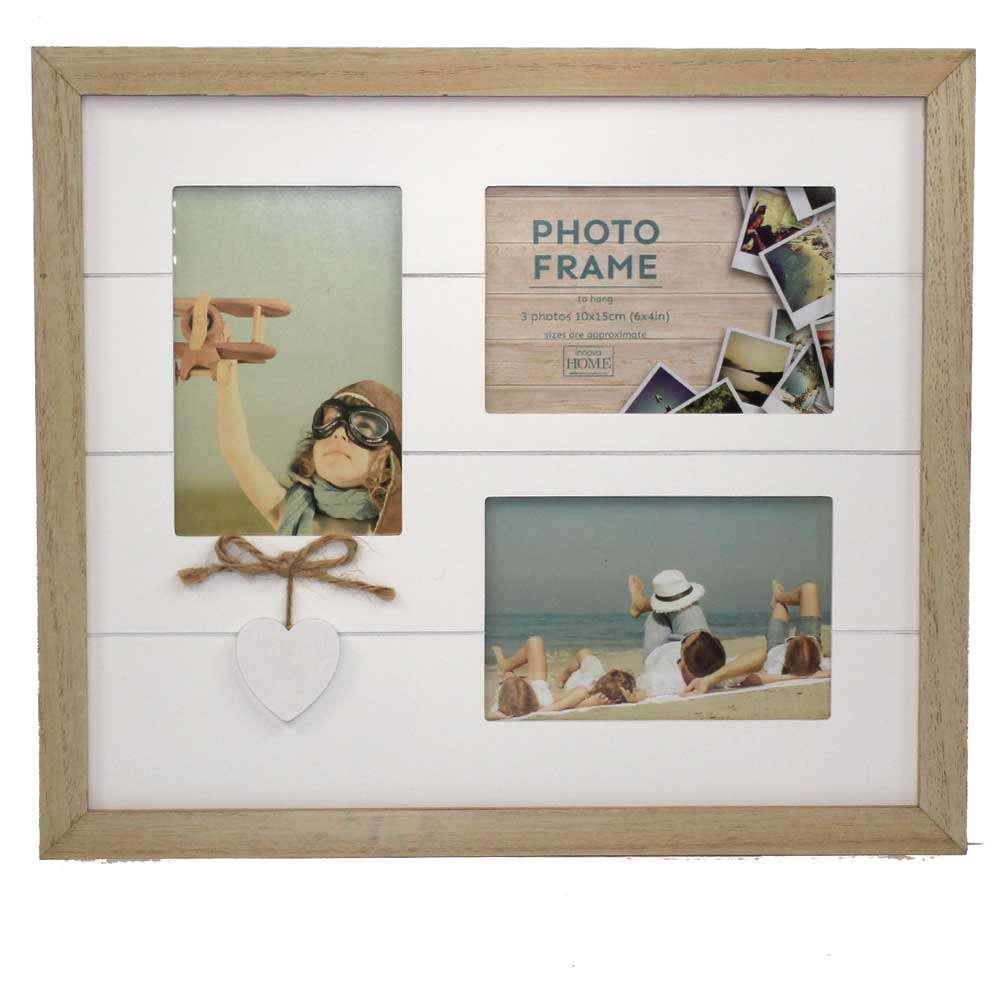 Amore Multi Photo Frames for 3 6x4 Inch Photos