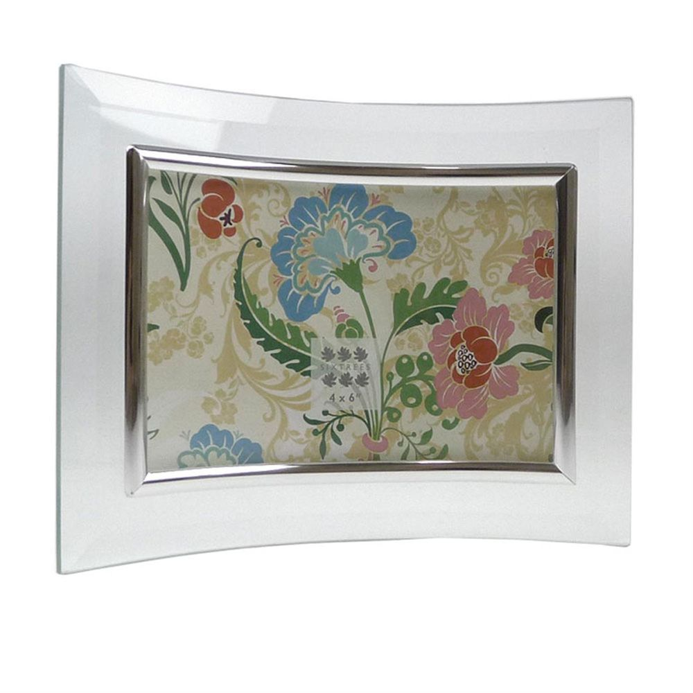 Curved Bevelled Glass Photo Frames