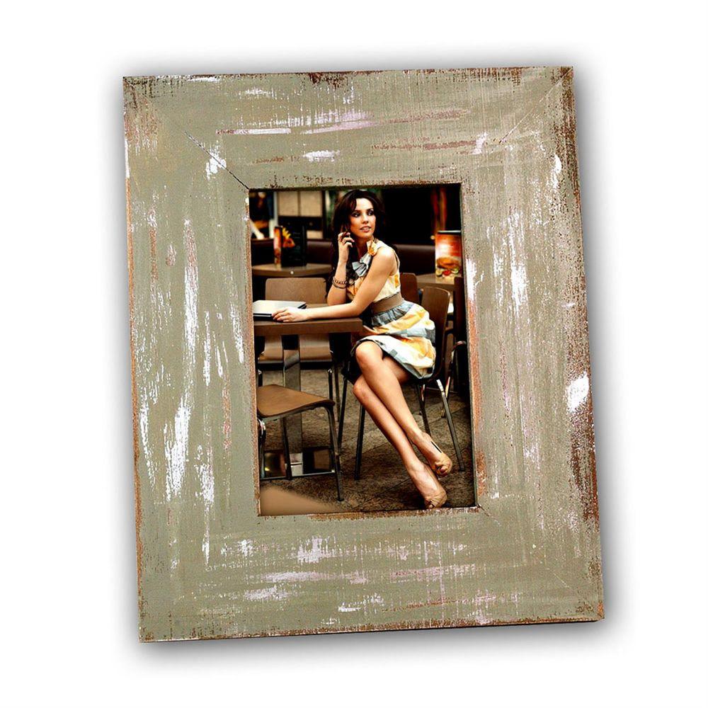 cornice ivry dark green 6x4 photo frame. Black Bedroom Furniture Sets. Home Design Ideas