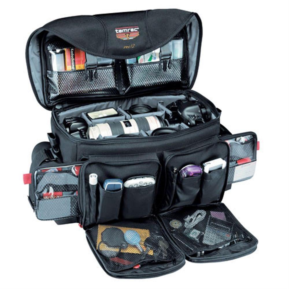 Tamrac Pro 12 Black Camera Shoulder Bag 5612