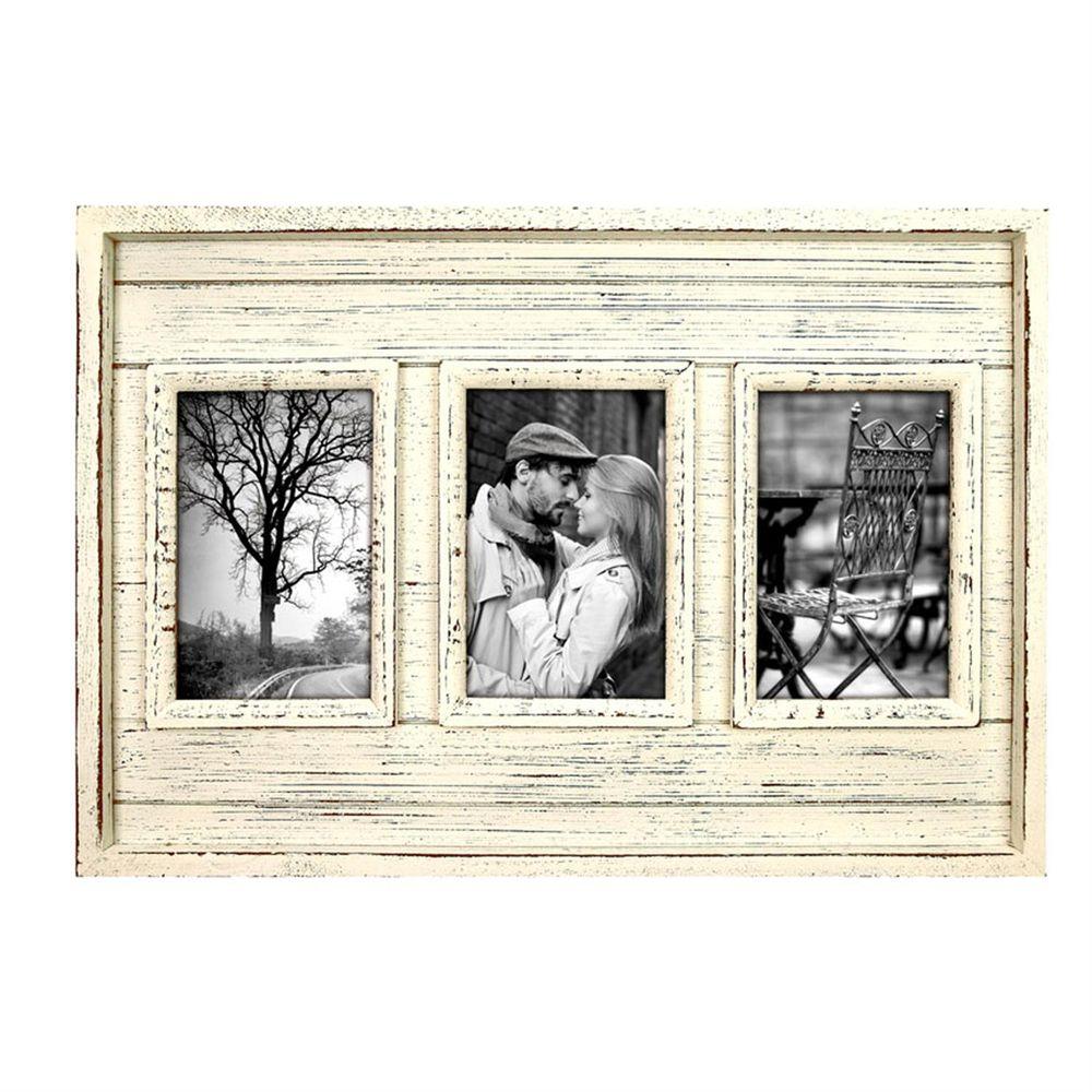 fez wooden triple 6x4 photo frame. Black Bedroom Furniture Sets. Home Design Ideas