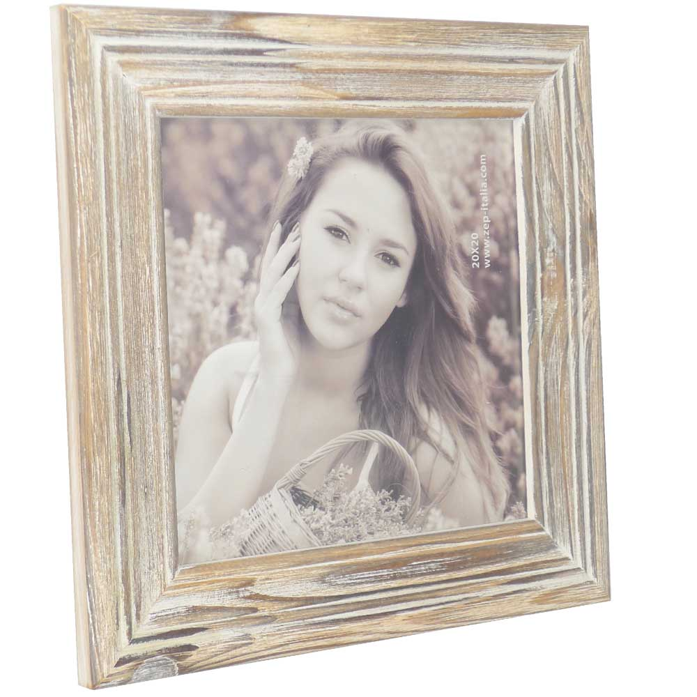 Wooden 8 X 8 Inch Square Photo Frame Ideal For Instagram Photos