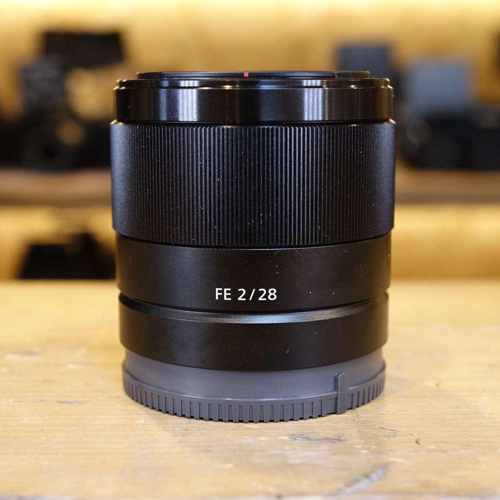 Sony E Mount Full Frame Lenses >> Used Sony Fe 28mm F2 Full Frame E Mount Lens