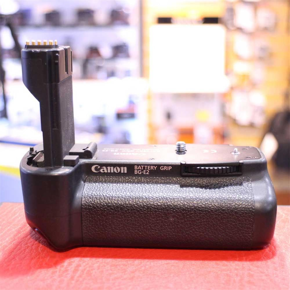 Canon Bg e2 battery Grip manual