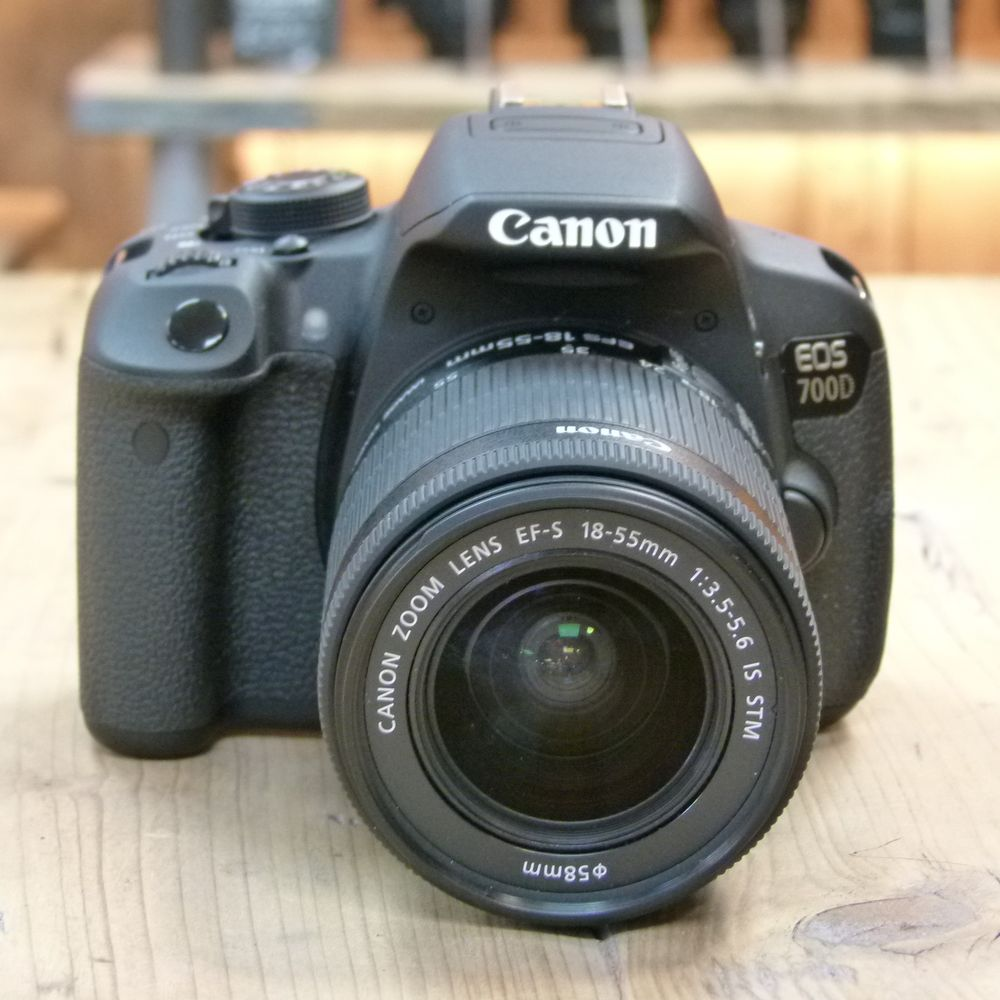 Used Canon Eos 700d Dslr Camera With Ef S 18 55mm Stm Lens Harrison Cameras