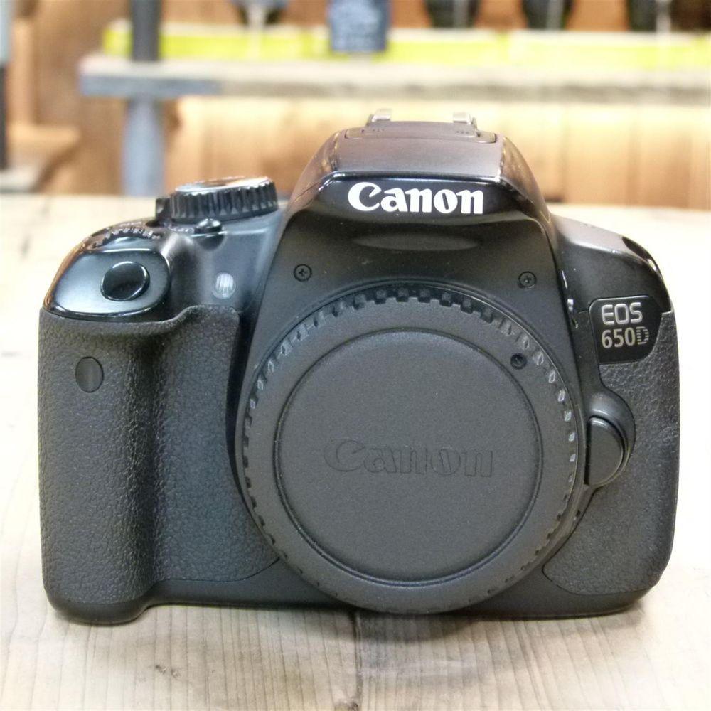 used canon eos 650d digital slr camera body. Black Bedroom Furniture Sets. Home Design Ideas