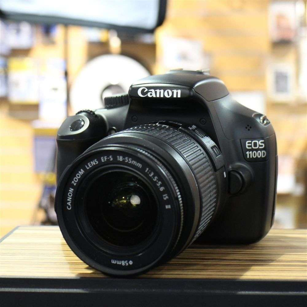 Used Canon EOS 1100D DSLR With EF S 18 55mm IS Lens